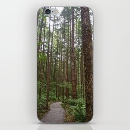 Fraser Valley Douglas Firs iPhone Skin