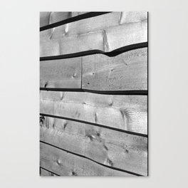Wood Siding Canvas Print