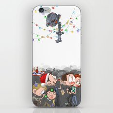 There are CHRISTMAS strings on me... iPhone & iPod Skin