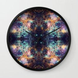 Space Mandala #36 Wall Clock