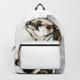 Amblonyx cinereus otter Backpack