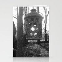 lantern Stationery Cards featuring Lantern by velitas
