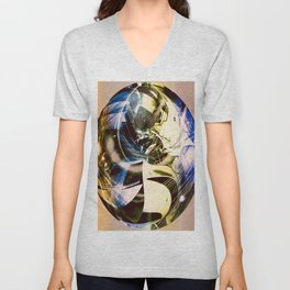 """""""Held Together With Duct Tape"""" Unisex V-Neck"""