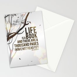 Life is a Book Stationery Cards