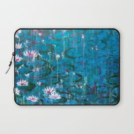 Water lilies in Venice Laptop Sleeve