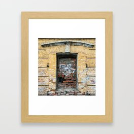 Window of Inopportunity Framed Art Print