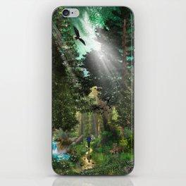 Forest Wisdom iPhone Skin
