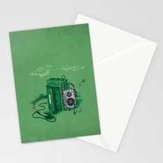 Music Break Stationery Cards