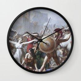 Les Sabines Wall Clock