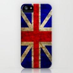 British Flag Slim Case iPhone (5, 5s)