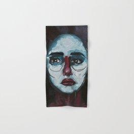 Don't cry Bernadette - Acrylics on Canvas Hand & Bath Towel