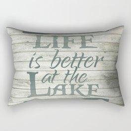 Lake Life Rectangular Pillow