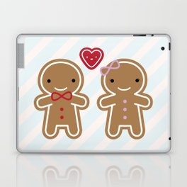 Cookie Cute Gingerbread Couple Laptop & iPad Skin