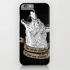 Wolf Protector (Black n Bronze collection) iPhone 6 Slim Case