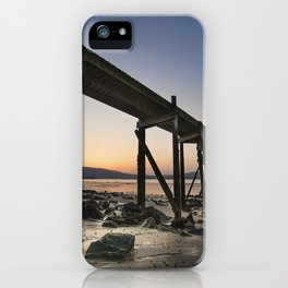 The old Peir at Holywood iPhone Case