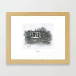 """Mister O"" Framed Art Print"