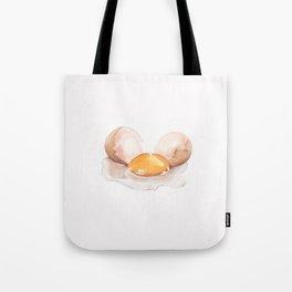 Color pencil Egg Tote Bag