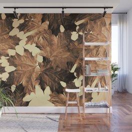 Autumn Sepia Wall Mural