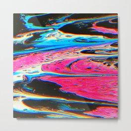 Bright Flow Metal Print