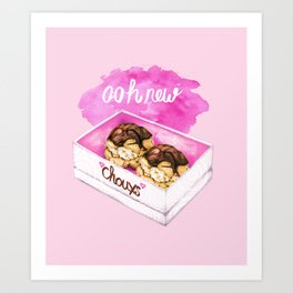 Ooh New Chouxs Art Print