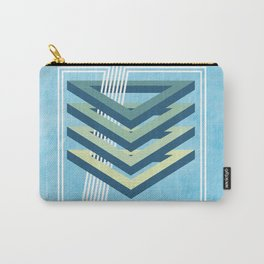 Four Triangles Carry-All Pouch