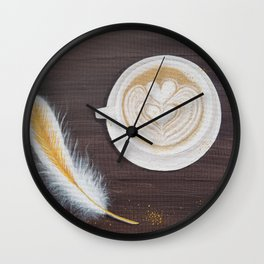 Morning Conversations with God Wall Clock