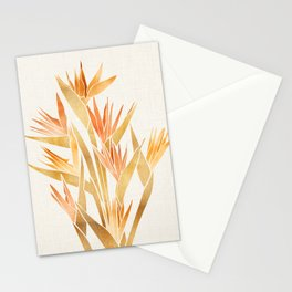 Tropical Bird of Paradise Stationery Cards