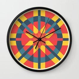 Venezuelan Pattern Wall Clock