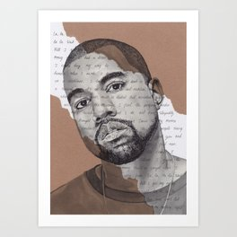 Can't tell me nothing Art Print