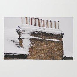 Snow Chimney Sweeps Rug