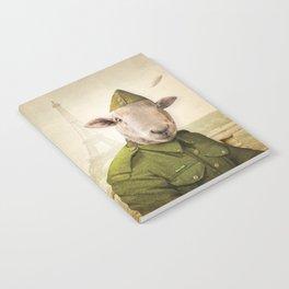 Private Leonard Lamb visits Paris Notebook