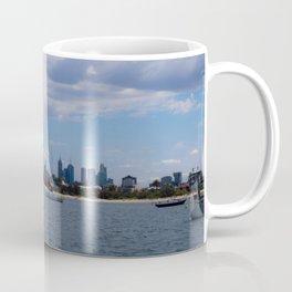 Melbourne Cityscape From St Kilda Coffee Mug