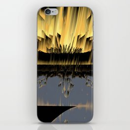 Against an asteroid attack iPhone Skin