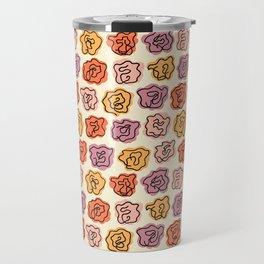 Warm Roses Travel Mug