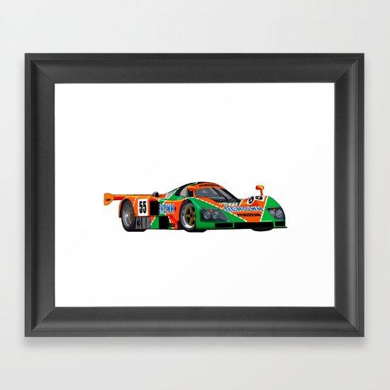 787B Framed Art Print