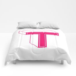 Letter T Comforters