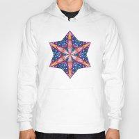 sacred geometry Hoodies featuring Sacred Geometry StarFlake Mandala by Jam.