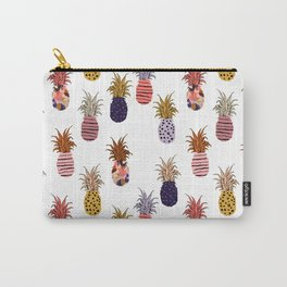 patterned pineapples Carry-All Pouch