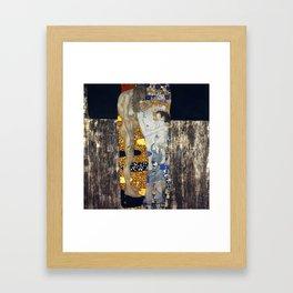 The Three Ages of Woman by Gustav Klimt Framed Art Print
