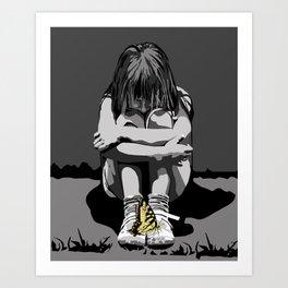 """""""God bless the child"""" 101 Art Print"""