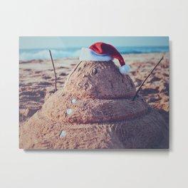Christmas in Hawaii Metal Print