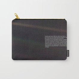 Carl Sagan Pale Blue Dot Quote Carry-All Pouch