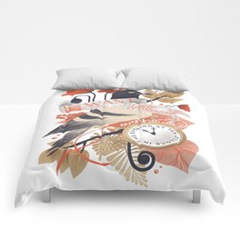 I Want The World To Stop Comforters
