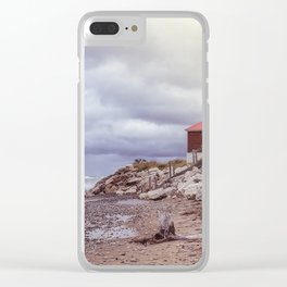 Crisp Point Clear iPhone Case