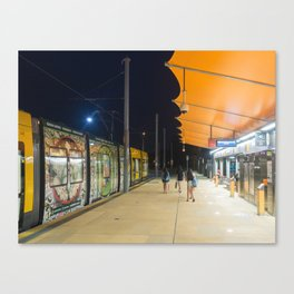 Light Rail Station Canvas Print