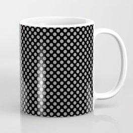 Black and Rock Ridge Polka Dots Coffee Mug