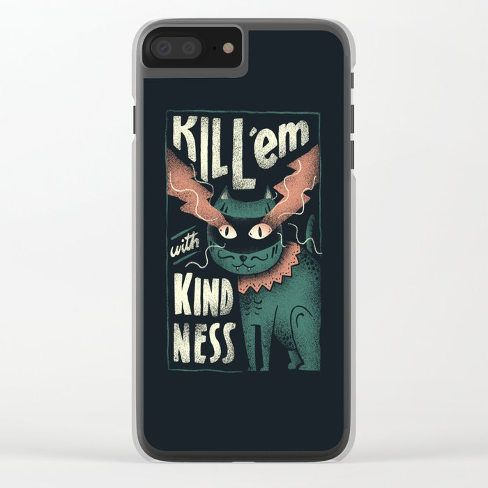 Kindness Clear iPhone Case