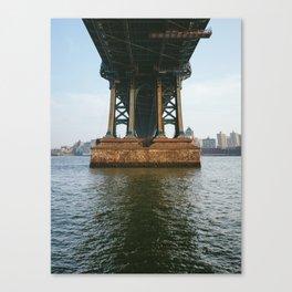 America's Cathedrals - Manhattan Bridge Canvas Print