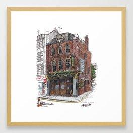 Lyric Pub, Soho Framed Art Print