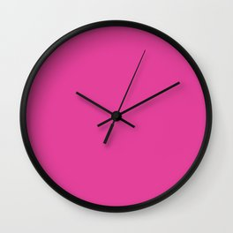 Pony Pink Wall Clock